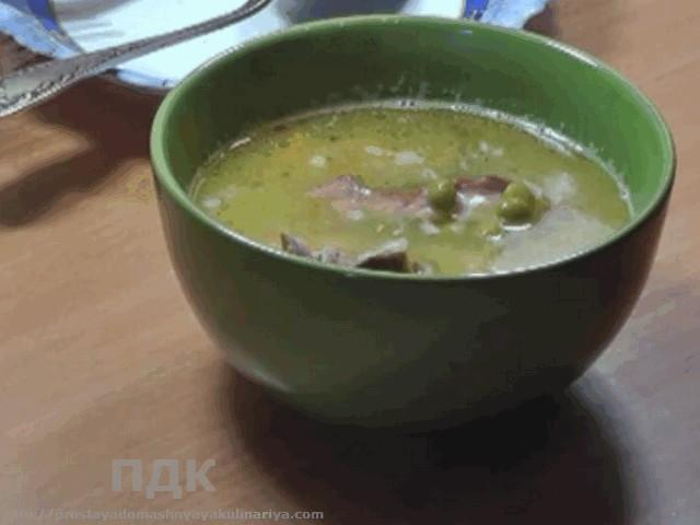 Sup gorokhovyj s kopchenostyami
