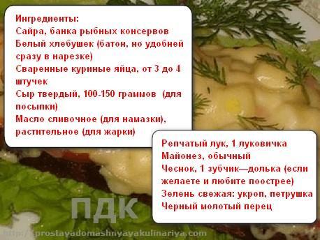 Goryachie buterbrody s sajroj 1
