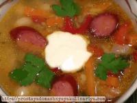 простой суп из фасоли